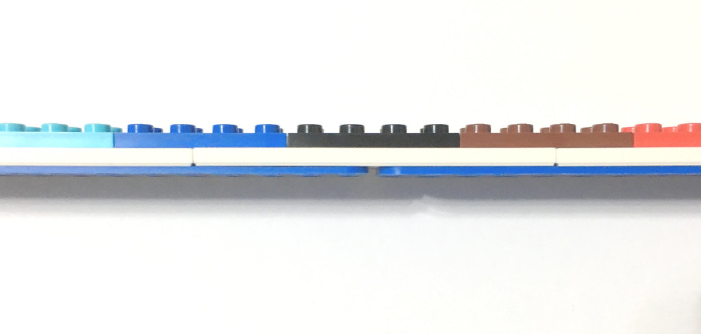 side view 30cm ruler
