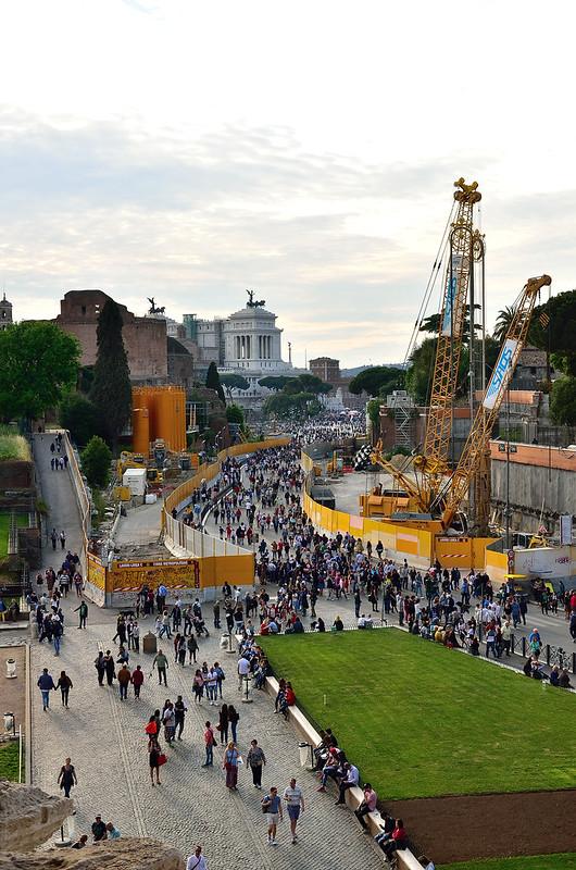 ROMA ARCHEOLOGIA e RESTAURO ARCHITETTURA: Roma, dagli scavi della metro C al Colosseo riaffiorano antiche mura. La Repubblica (03/10/2017) & skyscrapercity.com (09/29/2017). & s.v., Dott.ssa Arch. P. Giannone (26|05|2015) & Roma Metro C (21|04|2015).
