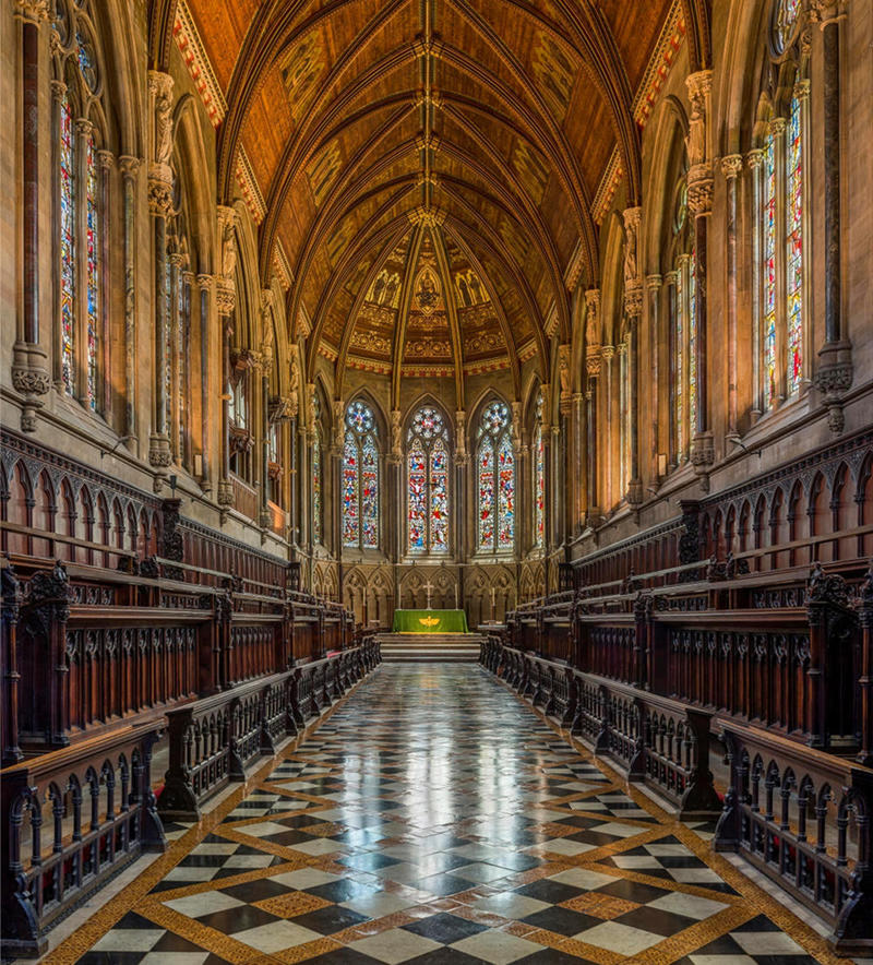 St John's Chapel interior. Credit David Iliff