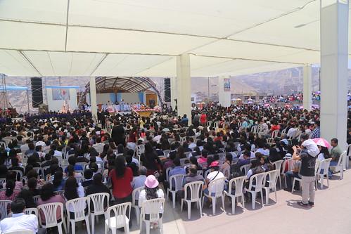 Fiesta de la Virgen del Rosario en Manchay