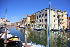 The Grand Canal of the island of Chioggia