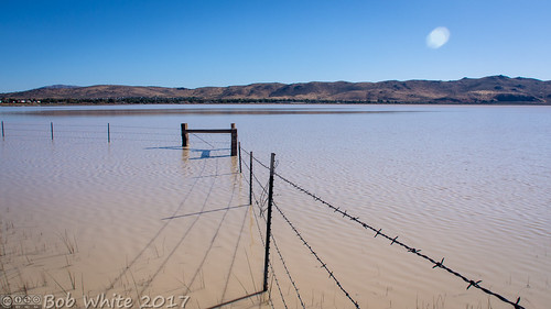 nevada washoecounty coldsprings whitelake lake brown dirtywater commute hwy395 fence barbwire