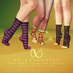 NX-Nardcotix - Luxebox - Annie Socks