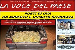 Noicattaro. Prima pagina n. 35-2017 front