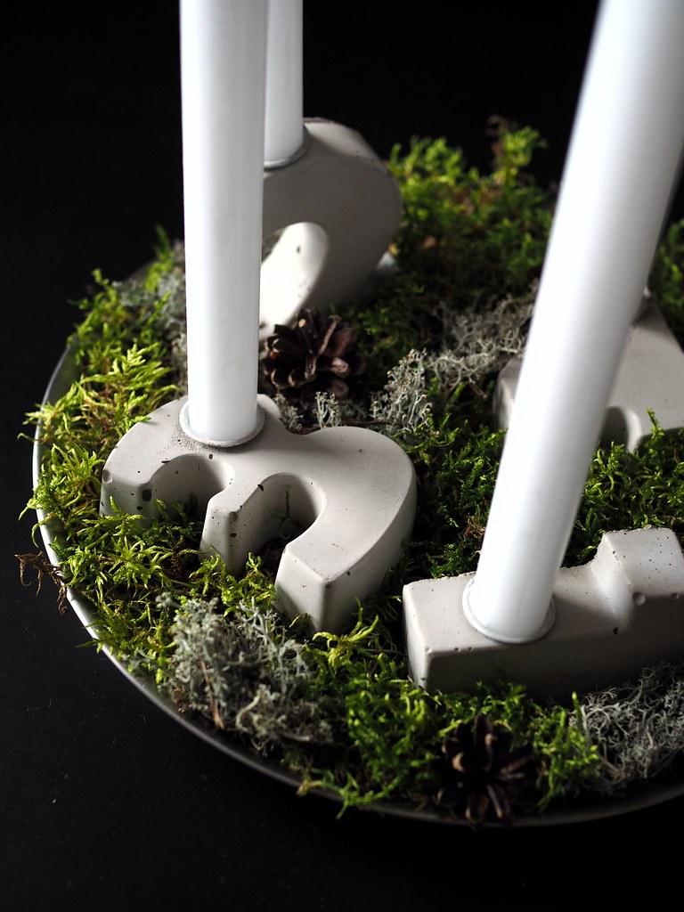 kynttilänjalat-betonista