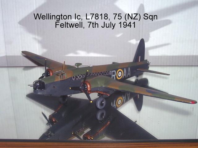 Airfix 172 Vickers Wellington Iaic A05037 The Airfix Tribute
