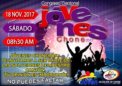 Alcaldía impulsa Congreso Cantonal de jóvenes en Chone