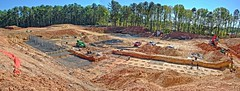 Peachtree Corners Town Center - Construction