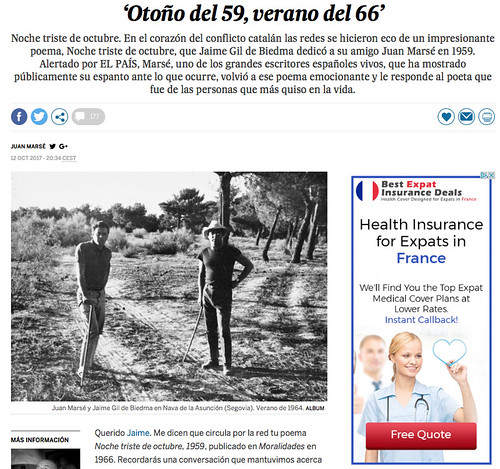 17j12 El País retoma poema Gil de Biedma publicado en Uti