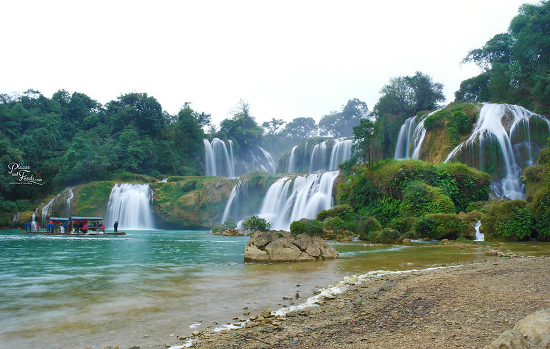 detian waterfall wide