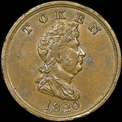 North West Company Token obverse