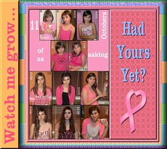 Breast Cancer Aware over half of her life!
