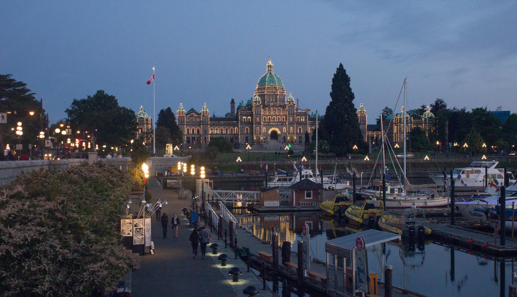 BC Parliament building, Victoria, Vancouver Island