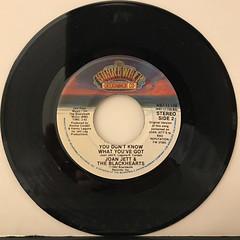 JOAN JETT & THE BLACKHEARTS:I LOVE ROCK 'N ROLL(RECORD SIDE-B)
