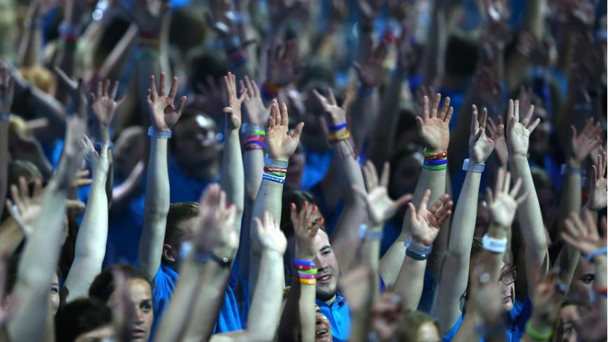 XIX Всемирный фестиваль молодежи и студентов в Сочи собрал около 25 тысяч молодых людей из 188 стран мира