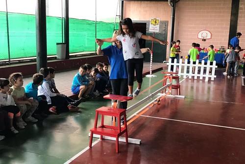 Talleres de circo del Programa del Juego y el Juguete no Violento y no Sexita