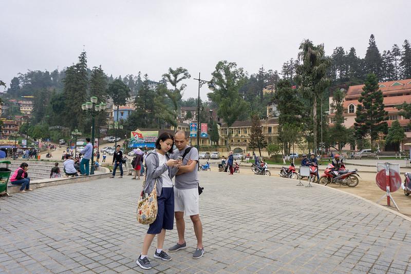 Sapa, Vietnam - town centre