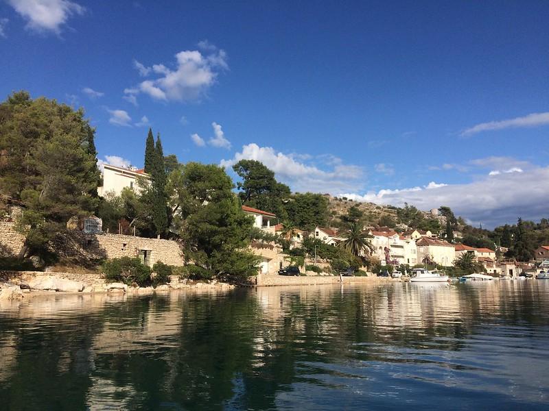 Chorvatsko jachtou