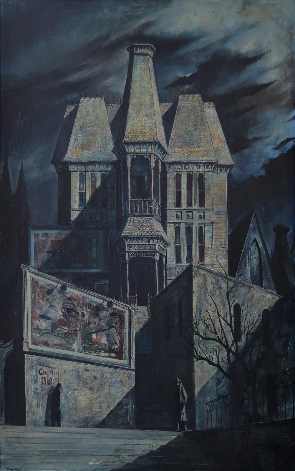Joseph Mugnaini - Modern Gothic,  1952