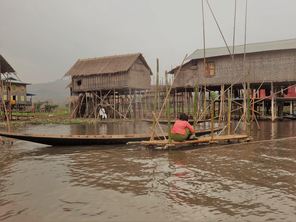 Chatki na palach Inle, Mjanma
