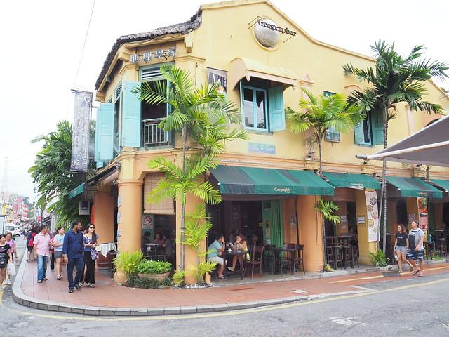 PA145084 ジオグラフィーカフェ(Geographer Cafe) malaysia マレーシア マラッカ melaka マラッカカフェ ひめごと