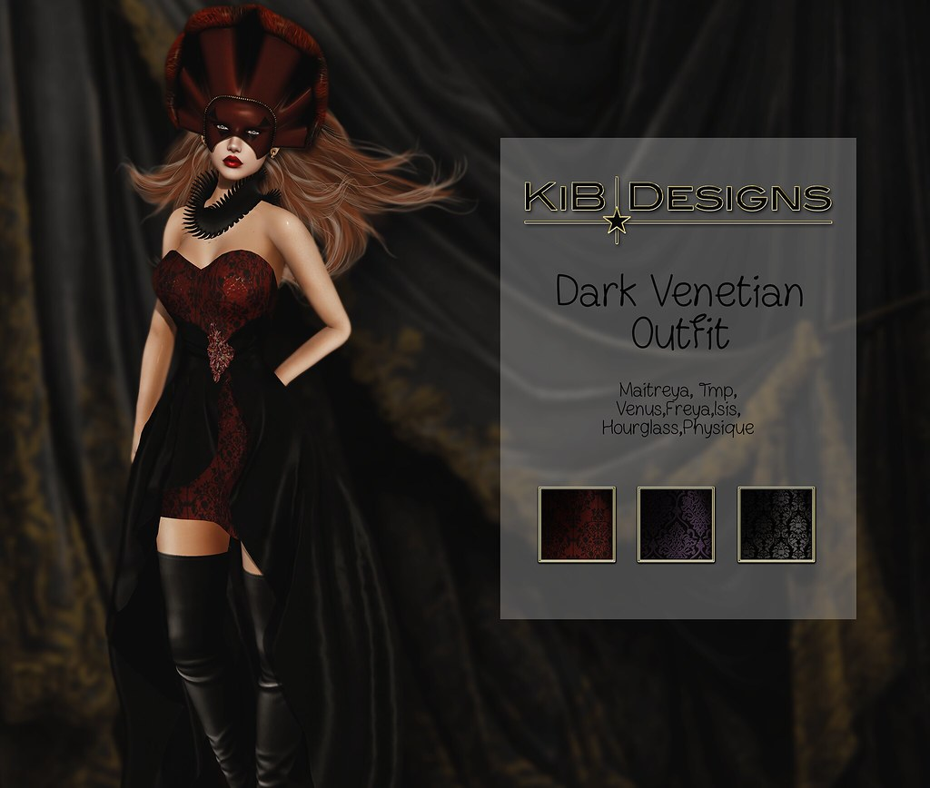 KiB Designs – Dark Venetian Female Outfit