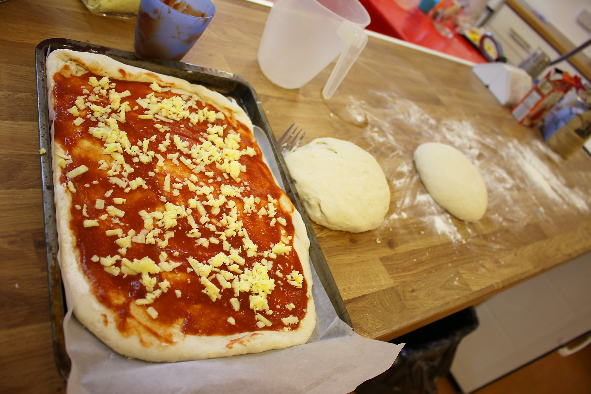 Year 4's Food Tech Pizzas
