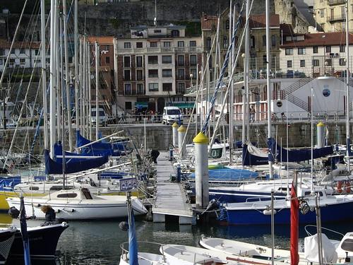 Puerto de San Sebastián (País Vasco, España, 5-4-2007)