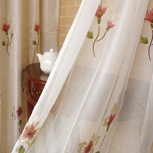 春織百合 盛開花卉 無接縫窗紗布 展覽場裝飾佈置 DB2490012
