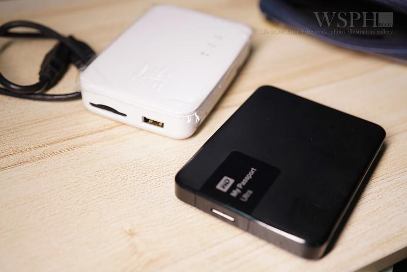 kingston mlwg3+硬碟+無線傳輸包+Power Bagel 拷貝