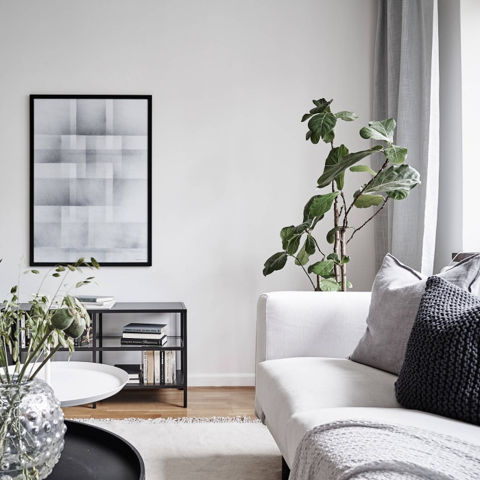 Light and Airy Swedish Minimalist Home