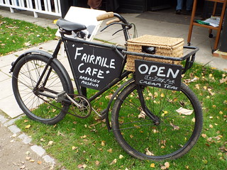 FairmileCafe - Cream Teas Delivery Bicycle