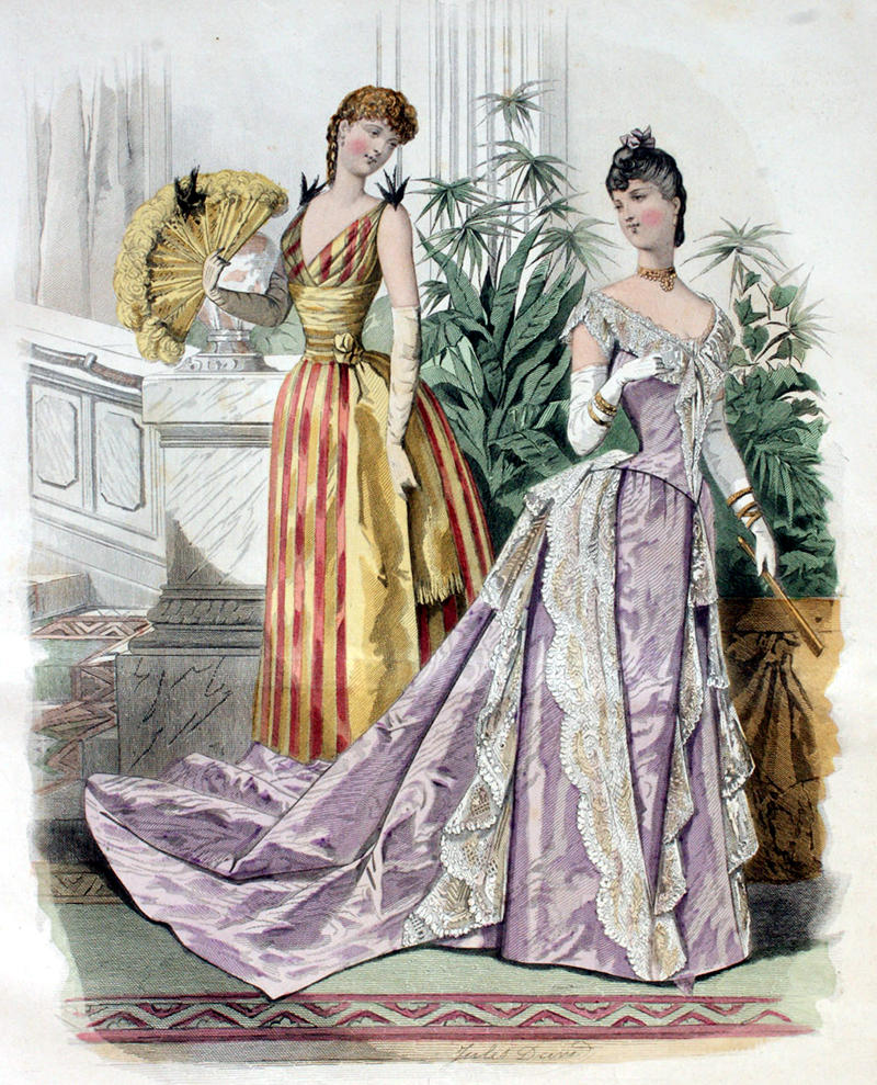 Women's Fashions of the Late Victorian Era – 5-Minute History