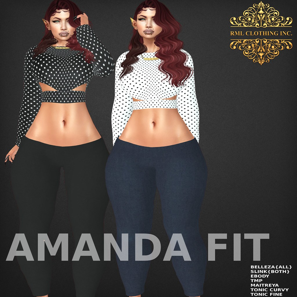 RML AMANDA FIT OFFICIAL AD