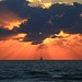 Sailing at sunset -Tel-Aviv beach by Lior. L