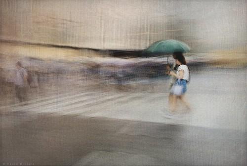 City In The Rain 4