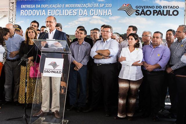 Deputado Carlão Pignatari com Governador Geraldo Alckmin - Jorge