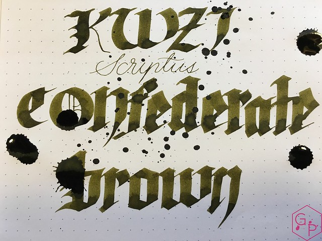 Ink Shot Review Scriptus 2017 x KWZI 150 Confederate Brown 9