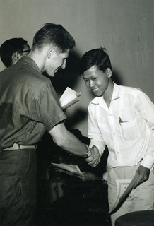 Certificate Presentation to Vietnamese Youth, 5 August 1968