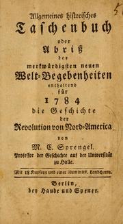 Allgemeines historisches Taschenbuch