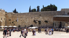 The Western Wall, Jerusalem.