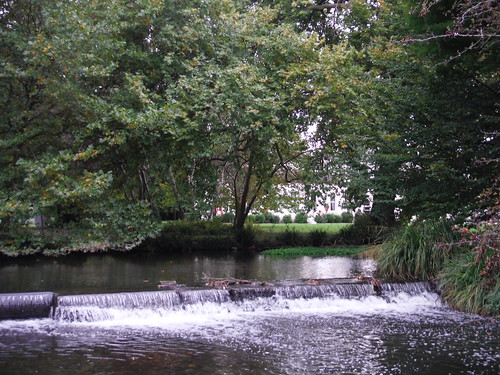 Outflow of Moat around Morden Hall