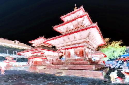 Nepal - Kathmandu - Temple - 38bb