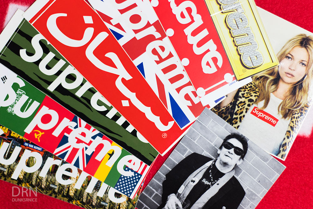 Supreme Stickers.