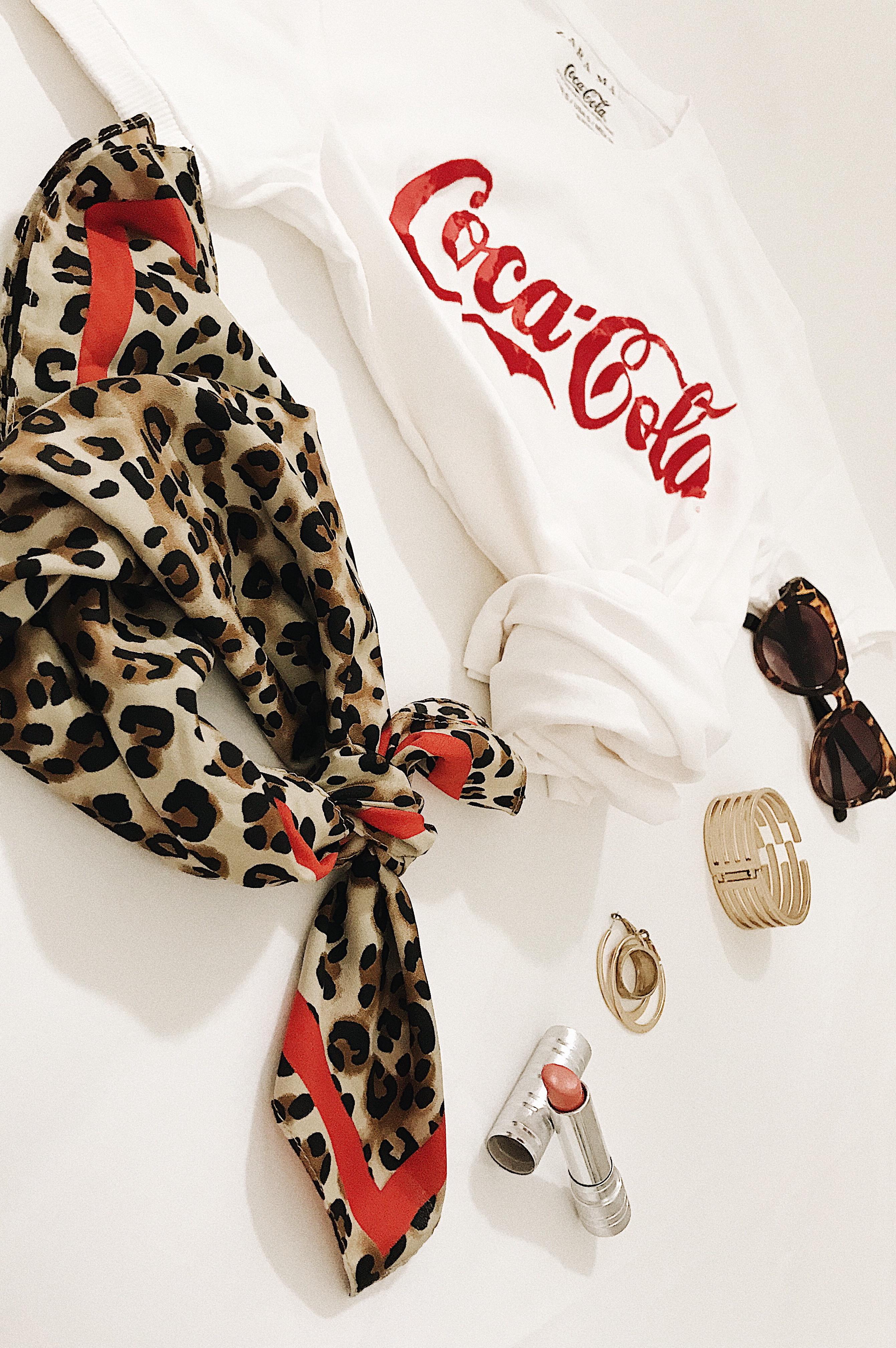 camiseta cocacola _pullandbear