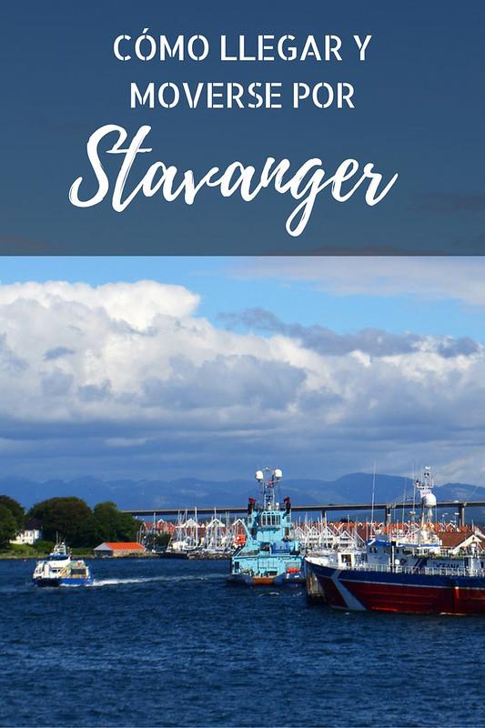 Que ver en Stavanger: vista del puerto de Stavanger, desde donde zarpan los ferrys para visitar el fiordo de Lyse