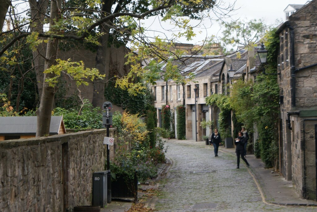 Quartier de Stockbridge à Edimbourg