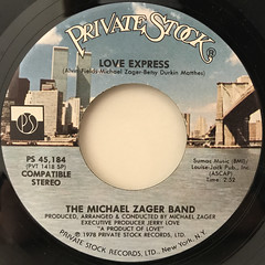 THE MICHAEL ZAGER BAND:LET'S ALL CHANT(LABEL SIDE-B)