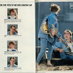 Wed, 2017-10-18 15:08 - Caption: 'Promise me you'll never grow up.'  Below photo on right side: 'Available at Macy's'  Published in Seventeen magazine, December 1986, Vol. 45 No. 12  Fair use/no known copyright. If you use this photo, please provide attribution credit; not for commercial use (see Creative Commons license).