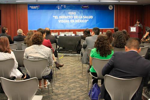 Foro: El impacto de la salud visual en México 12/oct/17